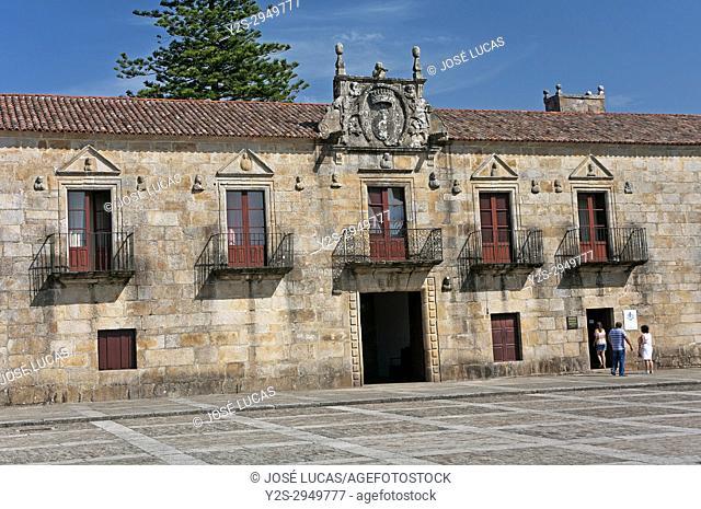 Palace of Fefinans, Cambados, Pontevedra province, Region of Galicia, Spain, Europe