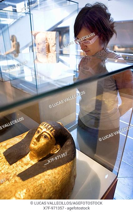 Egyptian Museum of Barcelona  Valencia 284  93 488 01 88  Barcelona  Catalonia  Spain