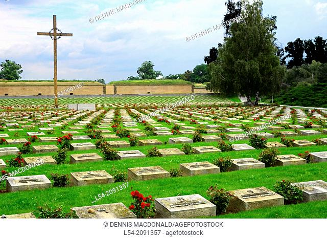 Terizen Cemetery Jewish Concentration Camp Czech Republic World War II Nazi