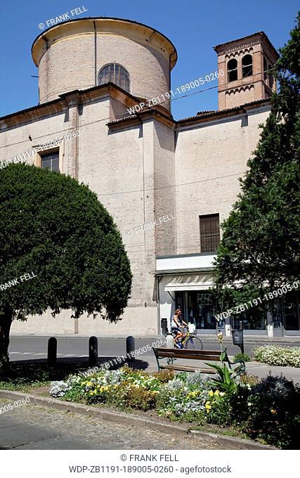 Italy, Emilia Romagna, Modena, Church on Largo G Garibaldi