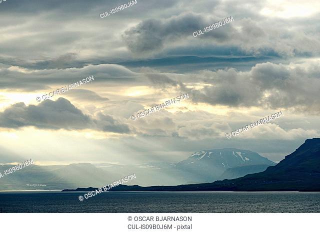 Scenic view, Hvalfjordur, Iceland