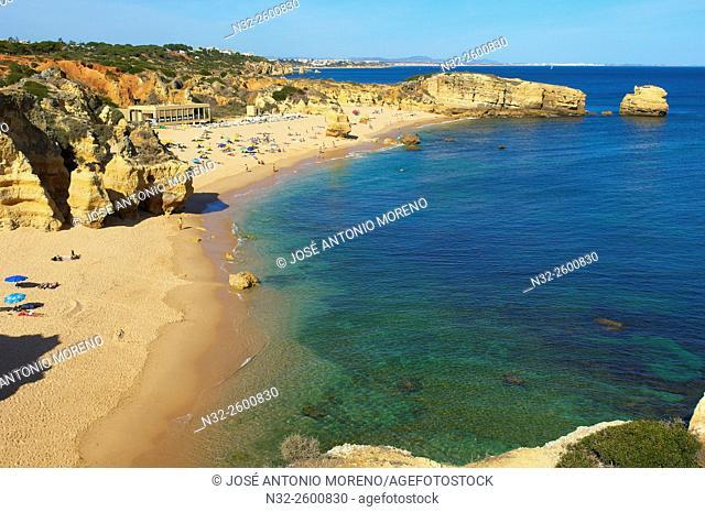 Albufeira, Sao Rafael Beach, Praia do São Rafael Algarve, Portugal, Europe