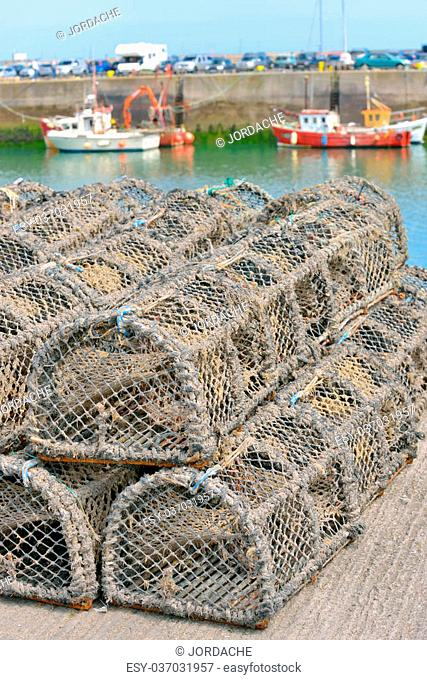 traditional traps for capture fisheries and seafood