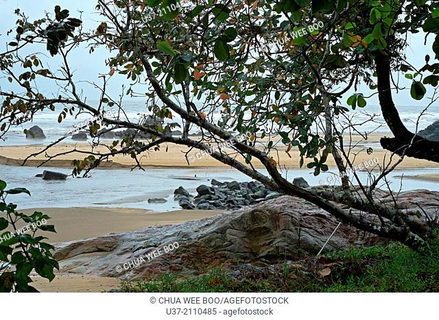 Pandan Beach, Lundu, Sarawak, Malaysia