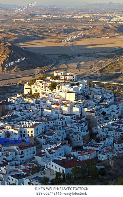 Mojacar, Almeria Province, Spain  Typical white village