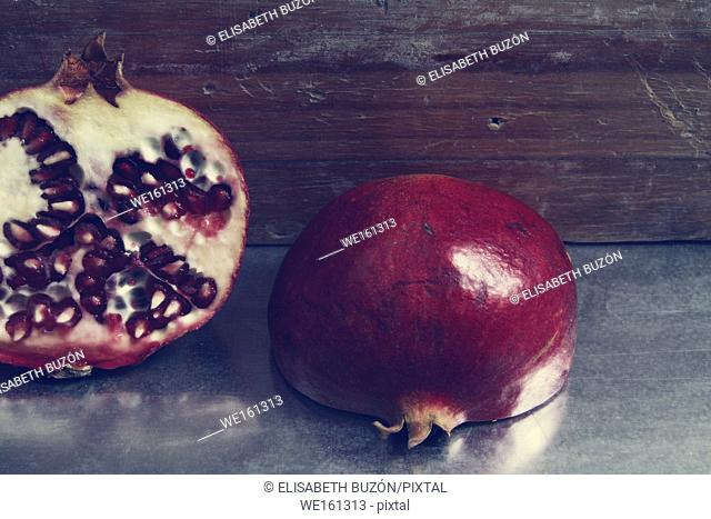 . Picture on a seasonal fruit