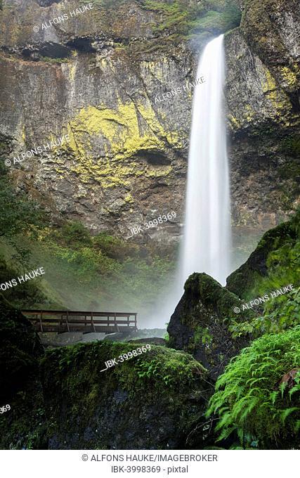 Elowah Falls, Columbia River Gorge, Portland, Oregon, United States