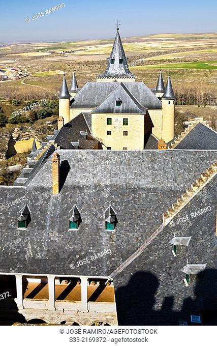 Alcazar of Segovia. Castilla Leon. Spain