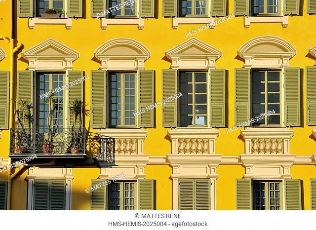 France, Alpes-Maritimes, Nice, place Garibaldi