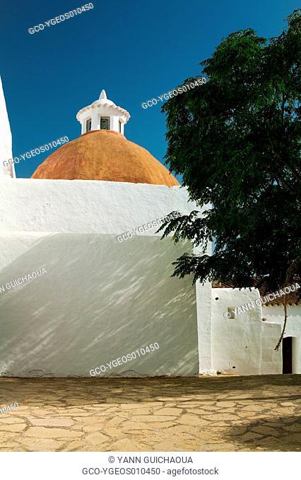 Church Of Santa Eulalia, Ibiza, Balearic Islands, Spain