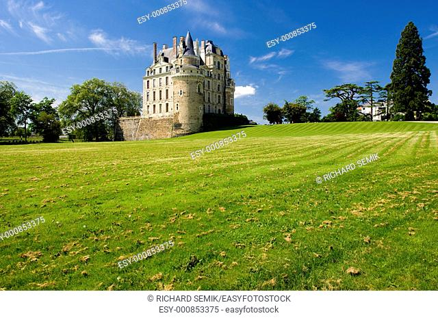 castle, Brissac-Quincé, Pays-de-la-Loire, France