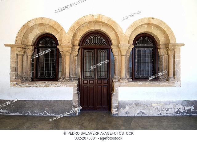 San Nicolas de Bari, thirteenth century Franciscan convent, Aviles, Asturias, Spain