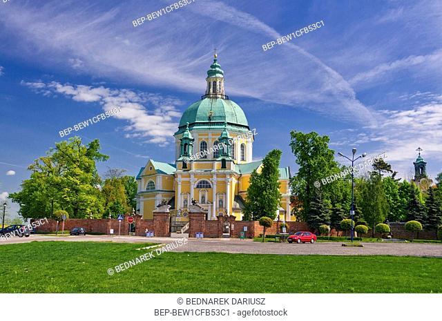 Basilica on the Holy Mountain in Glogowko near Gostyn, Greater Poland Voivodeship