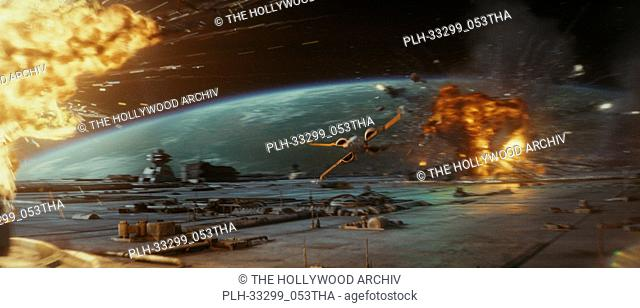 """""""Star Wars: The Last Jedi"""" (2017) Poe's Resistance X-Wing. Lucasfilm Ltd"
