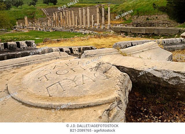 Asclepeion, Pergamon, Turkey