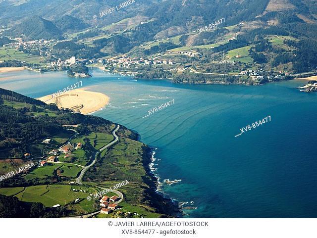 Urdaibai biosphere reserve, Sukarrieta, Biscay, Basque country, Spain