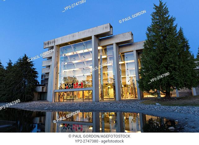 Vancouver, Canada: Museum of Anthropology at the University of British Columbia. The MOA as it's known, lies on the University Endowment Lands just to the west...