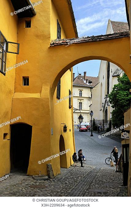 The Vlad Dracul House is located in the Citadel Square, close to the Clock Tower. This ocher-colored house is the place where Vlad Tepes Vlad the Impaler