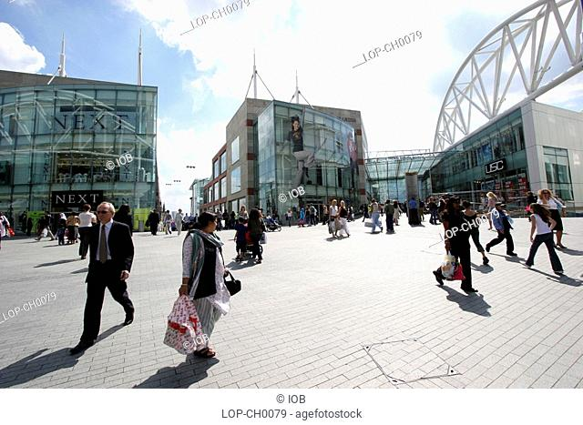 England, West Midlands, Birmingham, The Bullring Shopping Centre