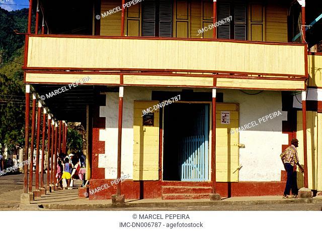 British west indies, Saint Lucia, la soufriere