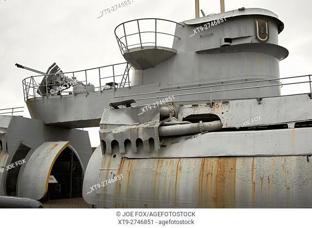 u-534 submarine museum at u-boat story Liverpool Merseyside UK