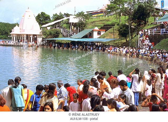 Mauritius - Grand Bassin - Ganga Talao - Hindu sacred lake - Indian Celebration - Maha Shivaratree