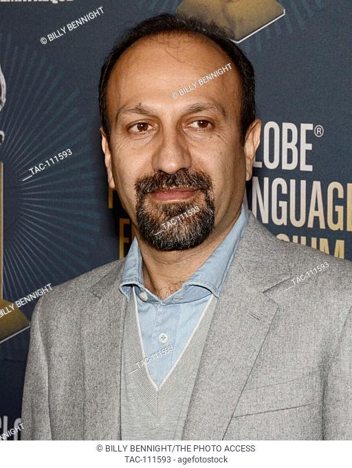 The Salesman Director Asghar Farhadi attends the American Cinematheque Golden Globe Symposium of Foreign-Language Nominated Film with their Directors at the...