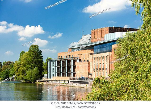 Royal Shakespeare Company Theatre, Stratford-upon-Avon, Warwickshire, England
