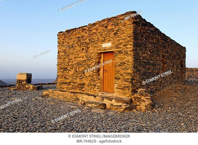 Hermitage of Father Charles de Foucauld, Assekrem, Hoggar, Ahaggar, Wilaya Tamanrasset, Algeria, Sahara Desert, North Africa