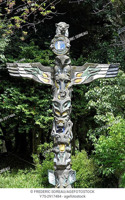 iA cross by Lions international in Nagasaki, Japan, Asia