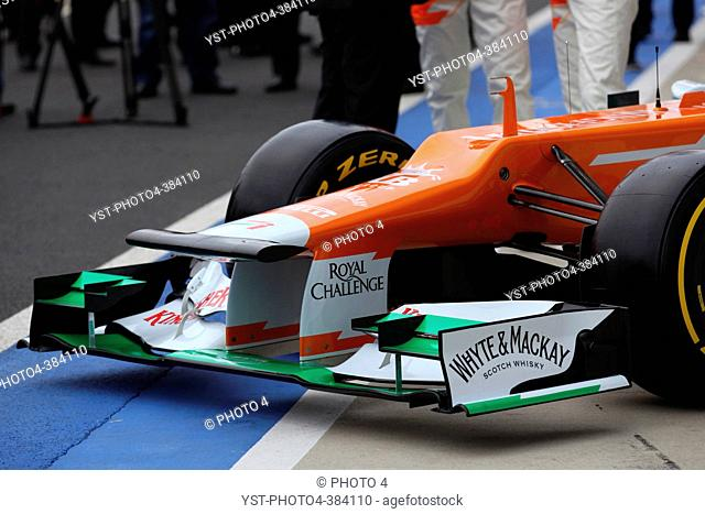 Launch Force India VJM05, Silverstone, England 03 February 2012, The New VJM05