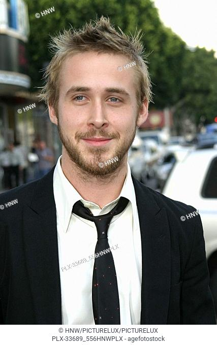 "Ryan Gosling 06/21/04 """"The Notebook"""" premiere @ Mann Village Theatre, Westwood Photo by Izumi Hasegawa/HNW / PictureLux (June 21"
