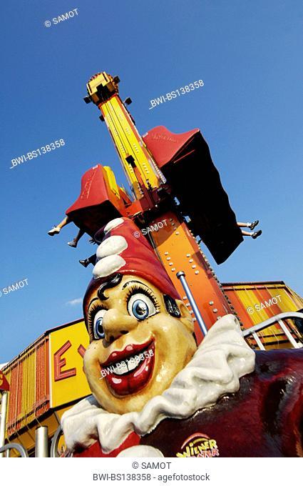 punch at the amusement park Wiener Prater, Austria, Vienna