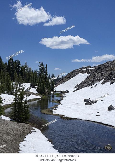 Green Lakes Trail Bend Oregon. USA