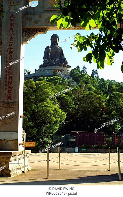 The Tian Tan Buddha, Lantau Island, Hong Kong