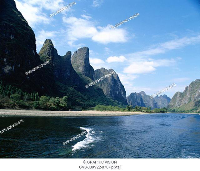 River Li, Guilin, China