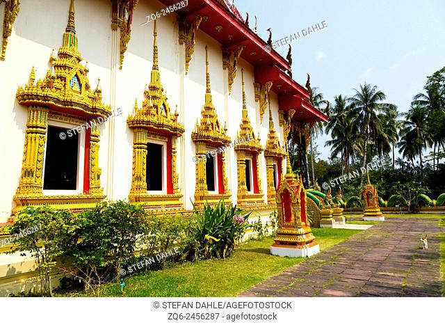 The Temple Wat Salakphet on Ko Chang, Thailand