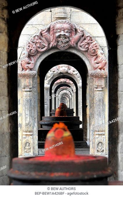Nepal, Kathmandu, Pashupatinath temple