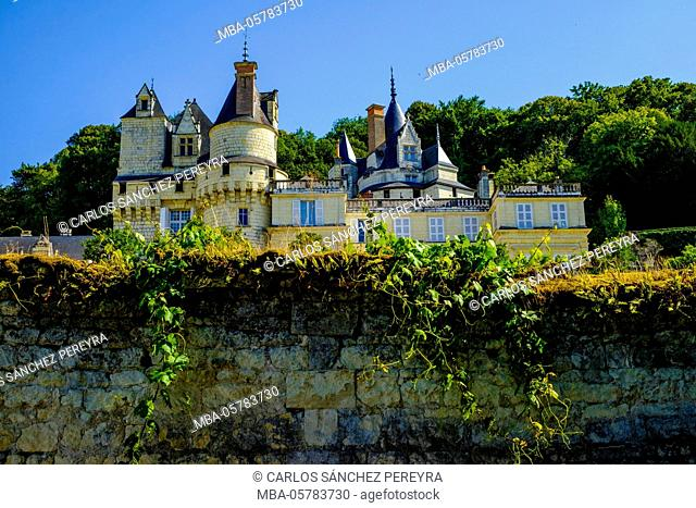 Castle of Rigny-Ussé, Loire Valley, France, Europe