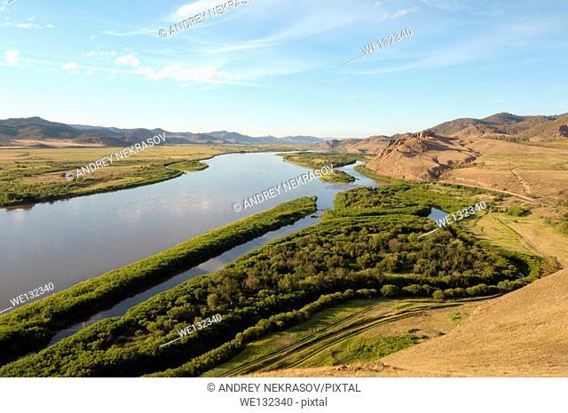 Selenga River Buryatia, Siberia, Russian Federation