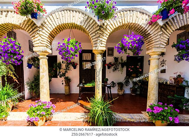 Courtyards Festival of Cordoba 2016 - La Fiesta de los Patios de Córdoba. In the list of Intangible Heritage of Humanity of Unesco since December 2012