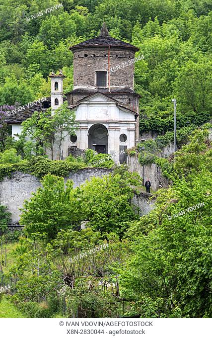 Madonna delle Grazie (Our Lady of Graces) church, Susa, Piedmont, Italy