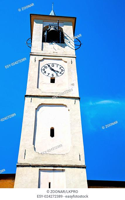 monument clock tower in  and bell
