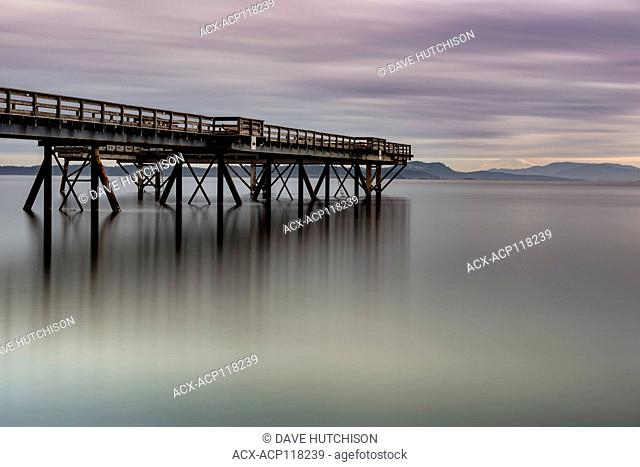 Sidney Pier, Sidney, BC Vancouver Island, Canada