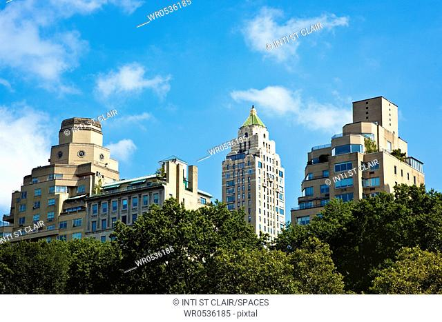 Office Buildings from Central Park