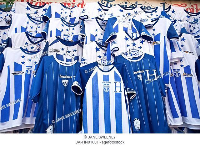 Honduras, La Ceiba, Hondusas football shirts