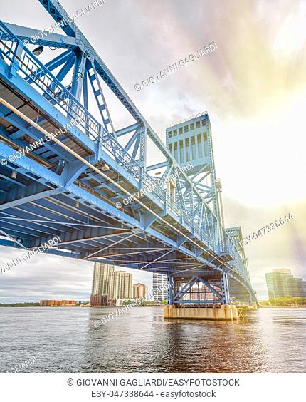 John T. Alsop Jr. Bridge in Jacksonville, FL. It is a bridge crossing the St. Johns River