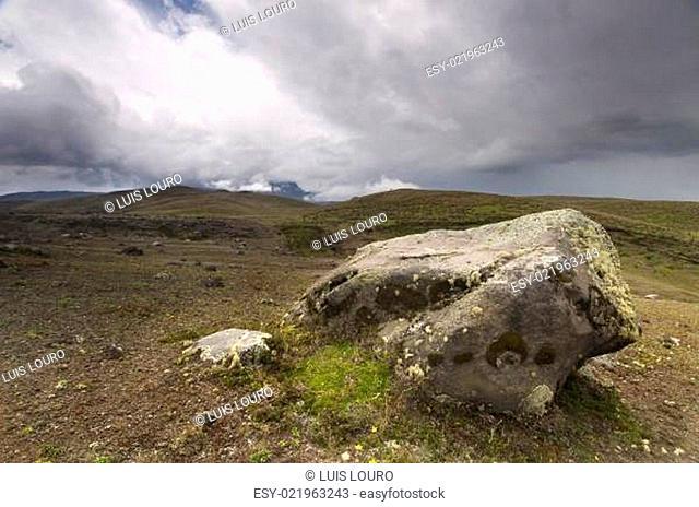 Cotopaxi volcano from Ecuador