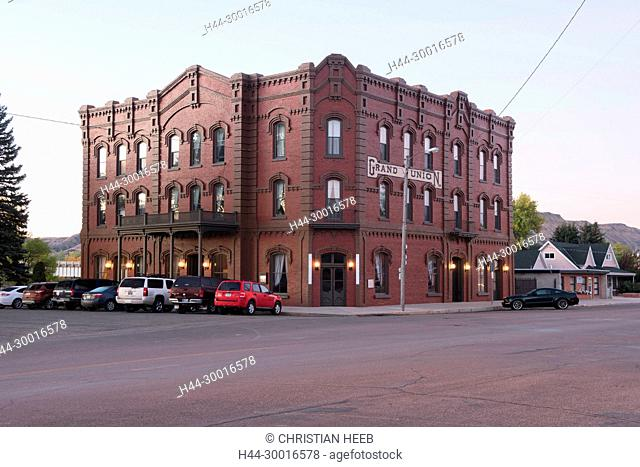 North America, USA, Great Plains, Montana, Fort Benton, Grand Union Hotel