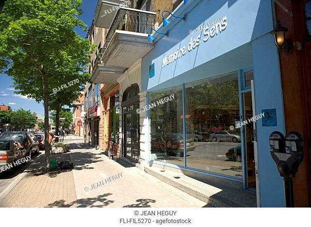Laurier Street, Montreal, Quebec